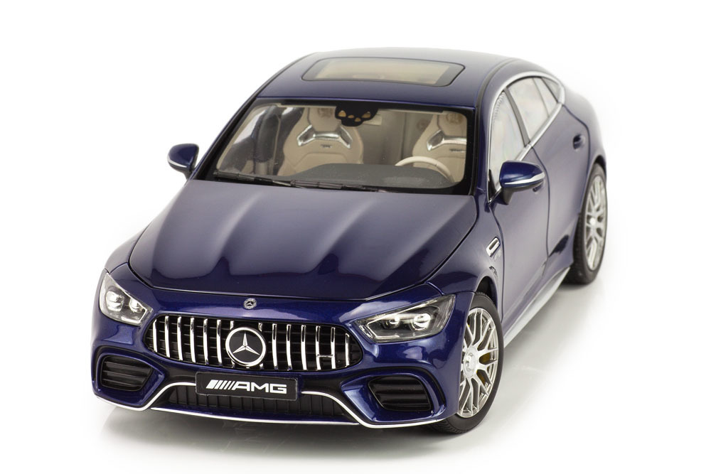 Коллекционная модель MERCEDES-BENZ X290 AMG GT 63 S COUPE 2019 BRILLIANT BLUE