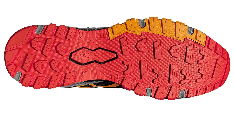 Мужские внедорожники Asics Gel-FujiAttack 5 G-TX (T631N 9709) серые фото