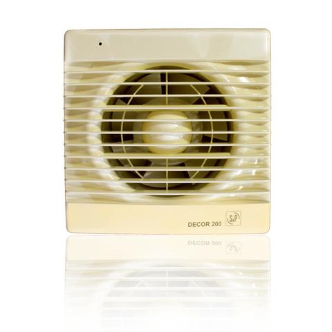 Вентилятор накладной S&P Decor 100 C Ivory