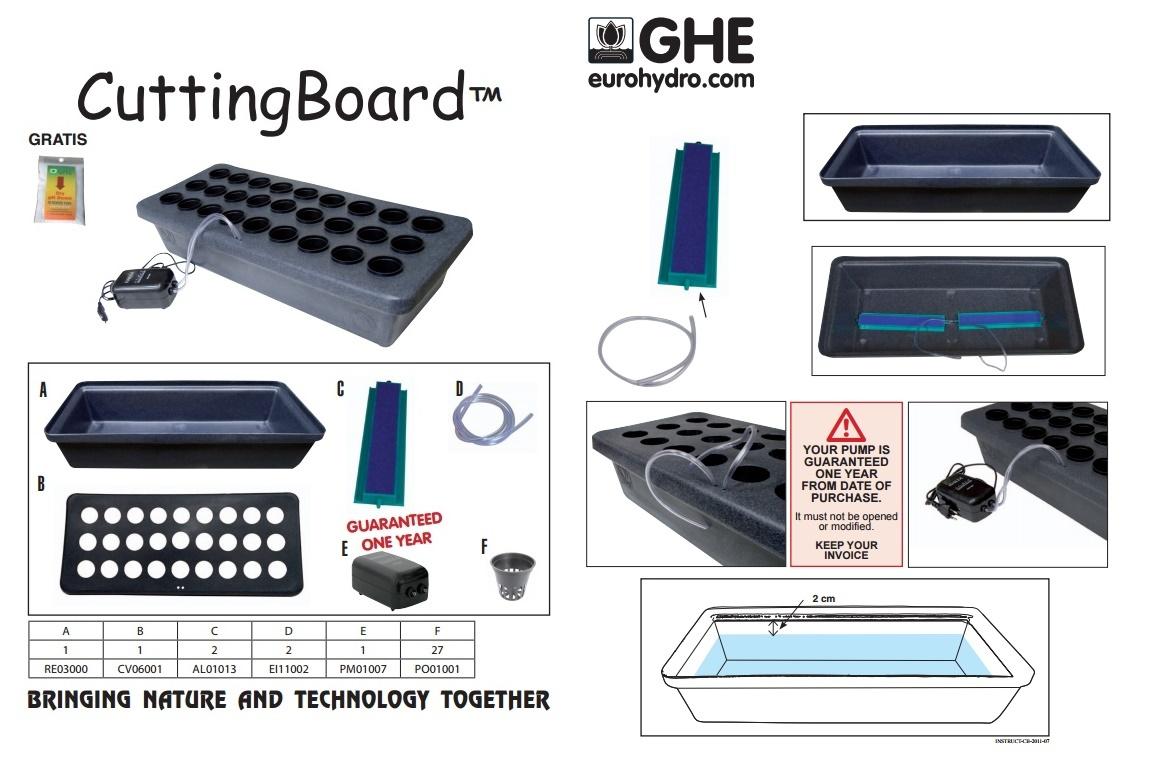 CuttingBoard 27 GHE купить в Москве систему для размножения