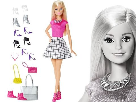 Барби Блондинка Модная обувь в Магии кукол