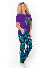 TK631-2 комплект женский, фиолетовый