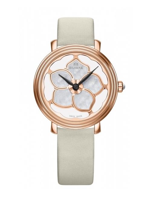 Часы женские Silvana SF36QRR85SBL Flowers