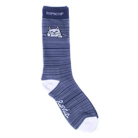 Носки RIPNDIP Peek A Nermal Socks (Navy)