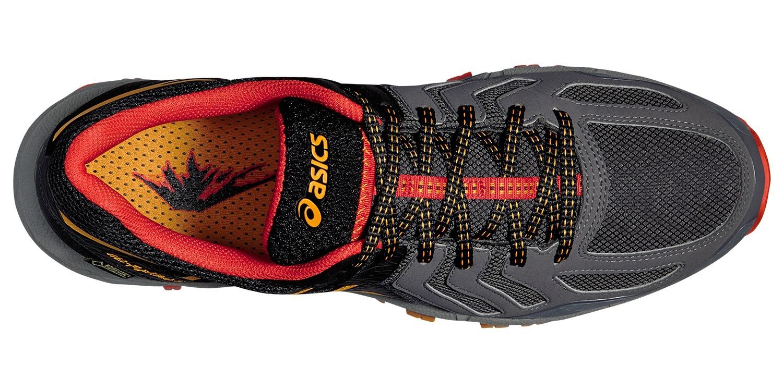 Мужские кроссовки внедорожники Asics Gel-FujiAttack 5 G-TX (T631N 9709) серые фото