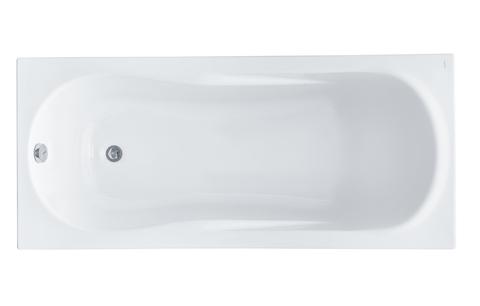 Акриловая ванна Santek Каледония 160х75 прямоугольная белая 1WH302388