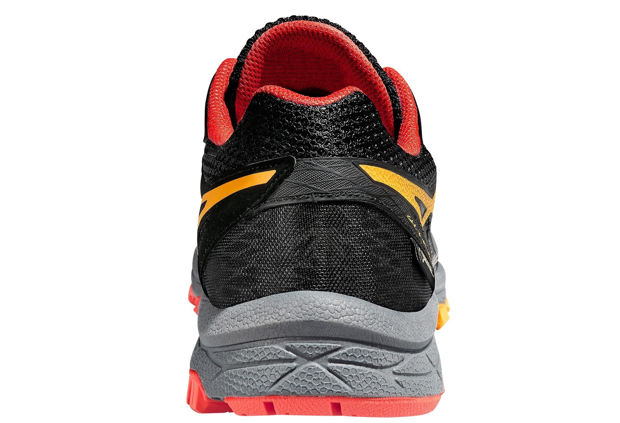 Мужские беговые кроссовки внедорожники Asics Gel-FujiAttack 5 G-TX (T631N 9709) серые фото