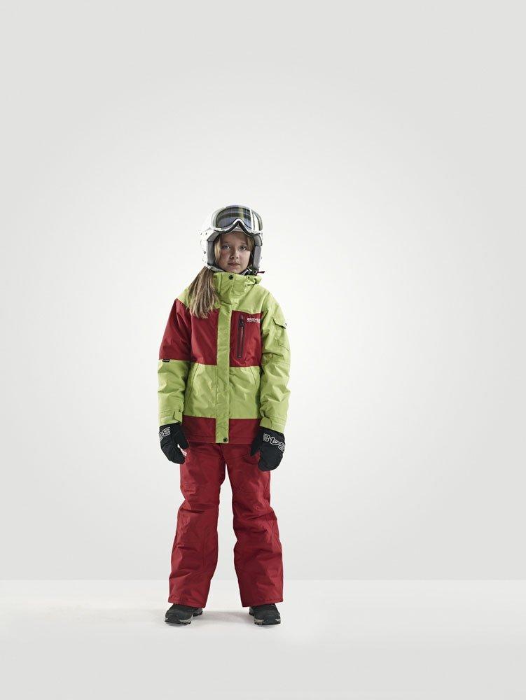 Куртка горнолыжная детская 8848 Altitude MILLY Lime (844083) фото