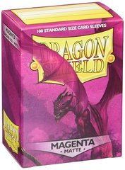 Dragon Shield - Пурпурные матовые протекторы 100 штук
