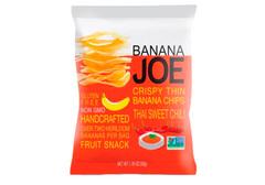 Банановые чипсы со вкусом тайского сладкого перца чили,