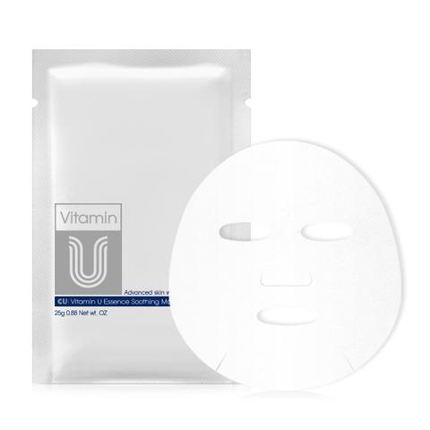 Набор из 5 масок с витамином U CU: VITAMIN U Essence Soothing Mask