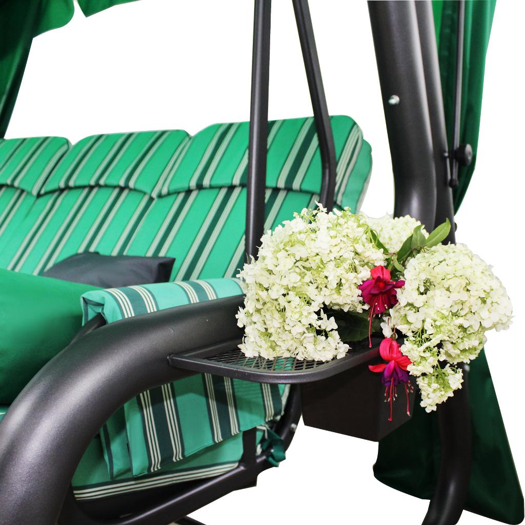 Эдем Люкс 76 подстаканник с цветами