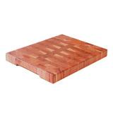 Доска торцевая разделочная, гледичия трёхколючковая 50 х 40 х 4,5 см, артикул TD01004, производитель - Origins Wood