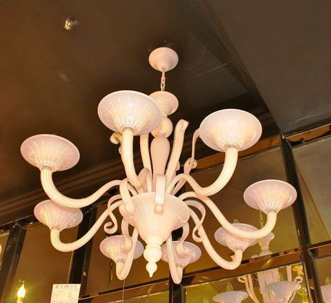 murano chandelier SYLCOM  12-17  by Arlecchino Arts ( HK)
