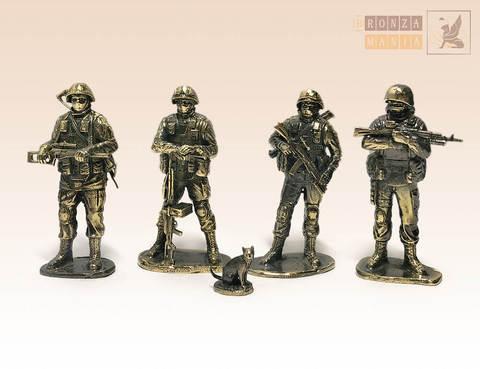 набор солдатиков Вежливая армия 4 шт.