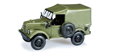 Herpa 024792 Легковой автомобиль GAZ 69, НО