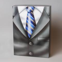 Коробка подарочная мужская с галстуком 44192