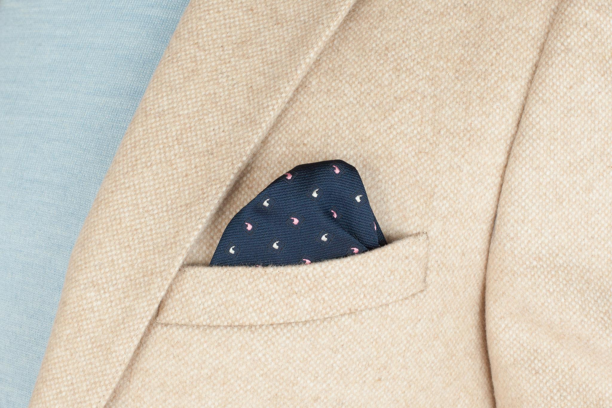 Светло-бежевый пиджак из шерсти и кашемира