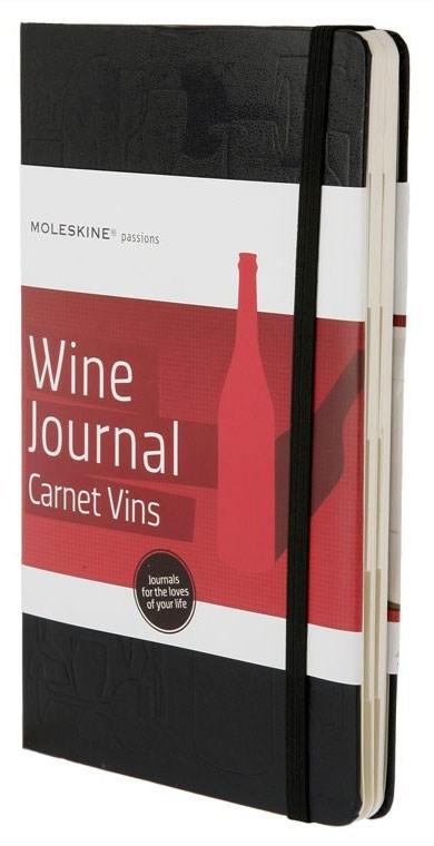 Блокнот Moleskine Passion Wine, цвет черный 385406(PHWN3A)