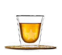 Стеклянный стакан с двойными стенками, в стиле Hario, 180 мл