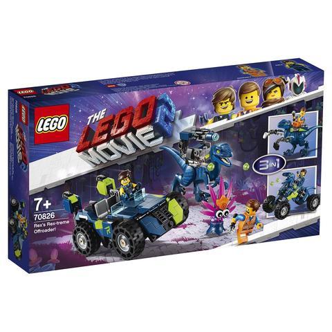 LEGO Movie: Рэкстремальный внедорожник Рэкса 70826 — Rex's Rex-treme Offroader! — Лего Муви Фильм