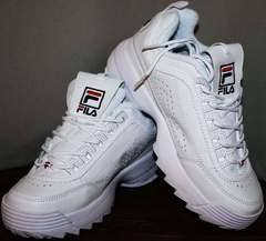 Кроссовки городской стиль Fila Disruptor 2 all white RN-91175