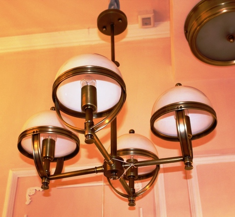 brass pendant 01-76  ( BRITISH LIGHTS)