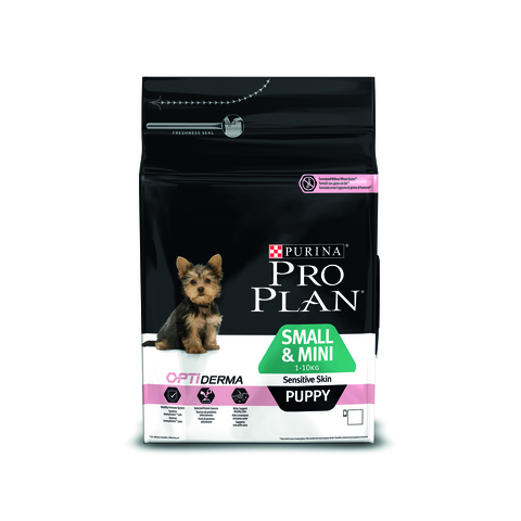 Pro plan small & mini puppy sensitive skin with salmon & rice dog
