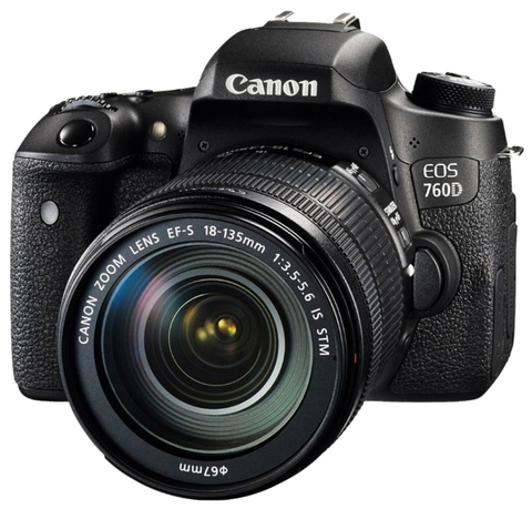 Canon EOS 760D Kit EF-S 18-135mm f/3.5-5.6 IS