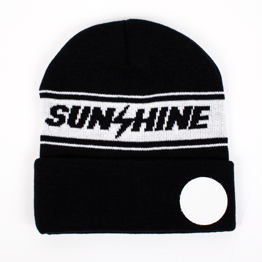 Шапка TRUESPIN Sunshine Classic Beanie (Черный (Black/White))
