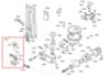 Расходомер + датчик уровня воды  для посудомоечной машины Bosch (Бош) - 640513