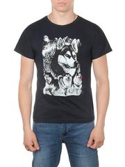 11112-7 футболка мужская, темно-синий