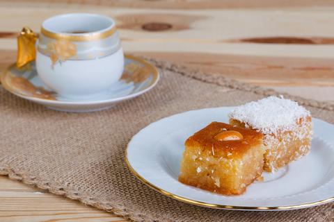 Восточный десерт Намура с миндалем, 400 г