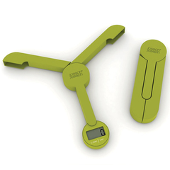 Весы кухонные складные triscale Joseph Joseph (зеленые)