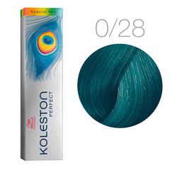 Wella Koleston Perfect Special Mix 0/28 (матовый синий) - Краска для волос