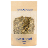 Тыквенные семечки, Royal Forest, 100 г.