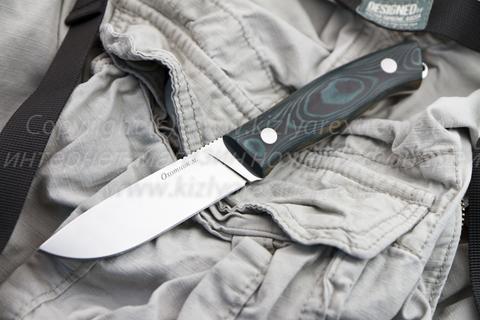 Охотничий нож Охотник М Полированный Микарта