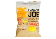 Банановые чипсы со вкусом сыра Чеддер