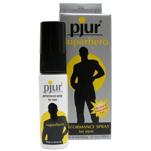 Пролонгаторы: Пролонгирующий мужской спрей pjur SUPERHERO spray - 20 мл.