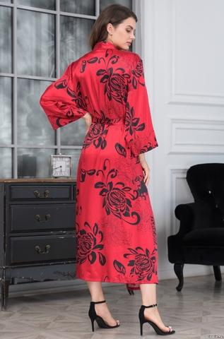 Халат женский  MIA-AMORE Da Vinci Да Винчи 8449 красный