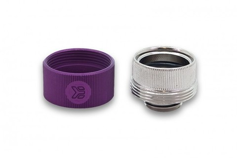 EK-HDC Fitting 16mm G1/4 - Purple