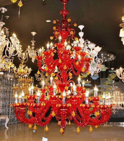murano chandelier  ARTE DI MURANO 12-18  by Arlecchino Arts ( HK)