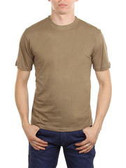 5105-4 футболка мужская, хаки
