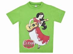 BK002F-23 футболка для девочек, салатовая