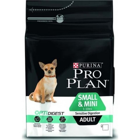 Purina Pro Plan Small & Mini Adult сanine Sensitive Digestion Lamb and rice dry 7 кг
