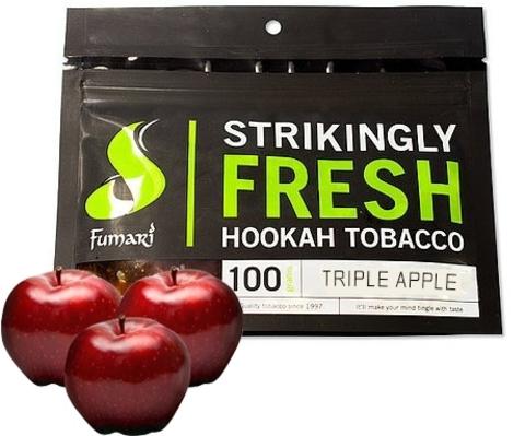 Табак Fumari 100 г Triple Apple