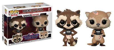 Фигурка Funko POP! Bobble 2-Pack: Marvel: GOTG TT: Rocket  Lylla 23212