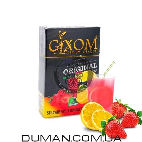 Табак Gixom Strawberry Lemonade (Гиксом Клубничный Лимонад)