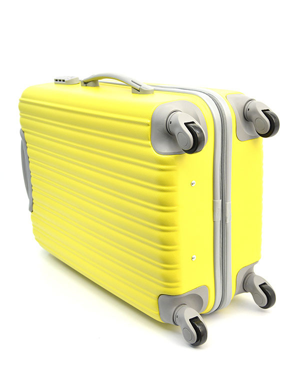 Чемодан Ananda APL-833 Желтый ручная кладь (S)