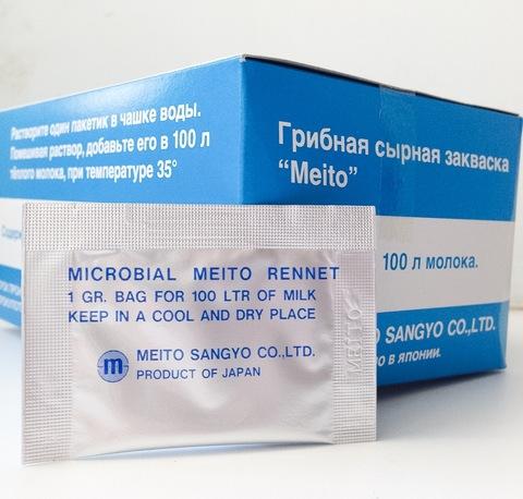 Закваска для сыра Мейто в пакетиках по 1 гр, фото